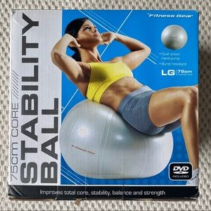 Fitness Gear 75 cm Premium Stability Ball
